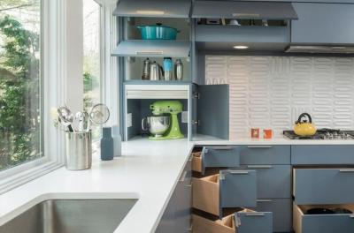 Дизайн угловой кухни: фото новинок года, 105 идей