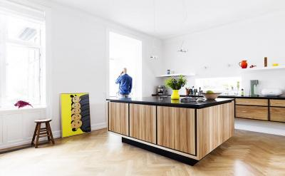 Дизайн кухни в скандинавском стиле - фото 1