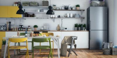 Пример кухни в Скандинавском стиле