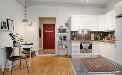Дизайн кухни в скандинавском стиле - фото 4