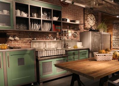 Кухня в стиле лофт - фото 4