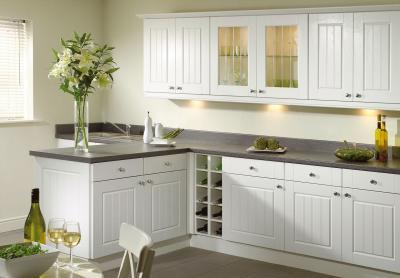 Кухня в белом цвете 2