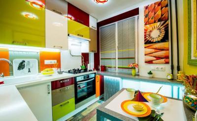 Кухня в стиле эклектика 4