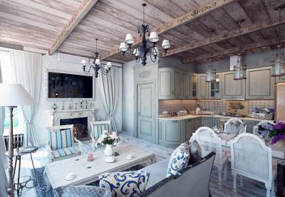 Кухня в стиле прованс - фото 1