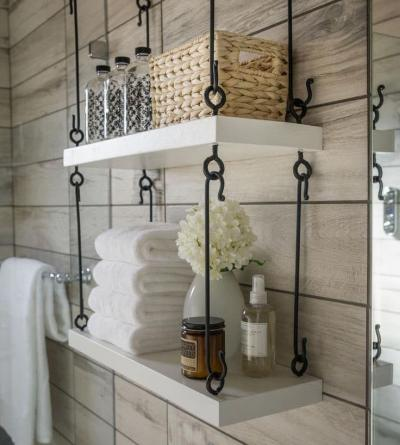 Мебель для ванной комнаты: стильные решения и оригинальные дополнения