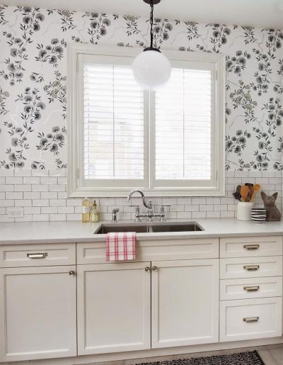 кухонные обои белая гамма 6 1