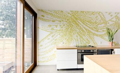 кухонные обои минимализм 14 1