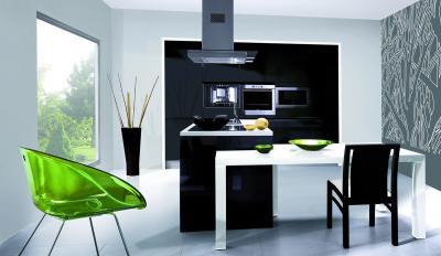 кухонные обои минимализм 5