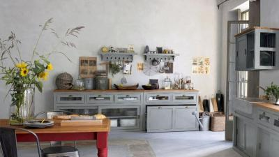 кухонные обои прованс 15