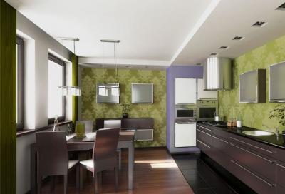 кухонные обои прованс 2 1