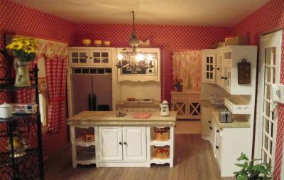 Обои для кухни фото в стиле прованс