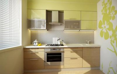 кухонные обои зеленая гамма 3 1