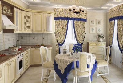Фото обоев для кухни - прованс