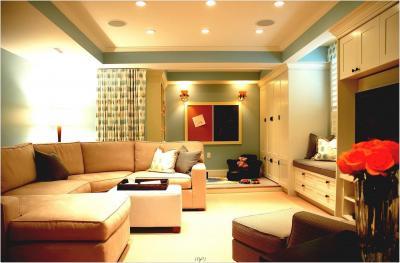 Двухуровневый потолок из гипсокартона 5