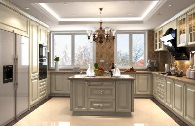Потолок из гипсокартона для кухни 2