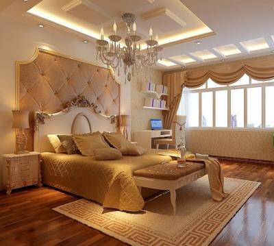Потолок из гипсокартона с подсветкой 3