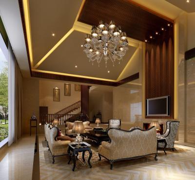 Потолок из гипсокартона с подсветкой 4