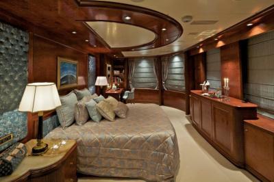 Потолок из гипсокатона для спальни 12-14 м 2