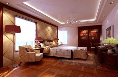 Потолок из гипсокатона для спальни 12-14 м 8