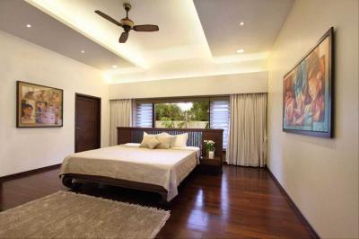 Потолок из гипсокатона для спальни 12-14 м 9