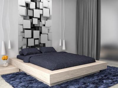 Фотообои в интерьере спальни 5