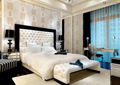 Обои для спальни в современном стиле 3