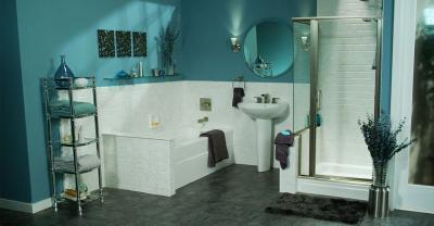 Цвет Чирок в интерьере ванной комнаты