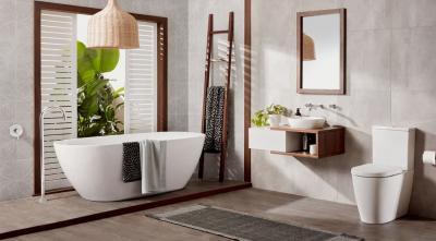 Дизайн ванной комнаты 2018 - фото 1