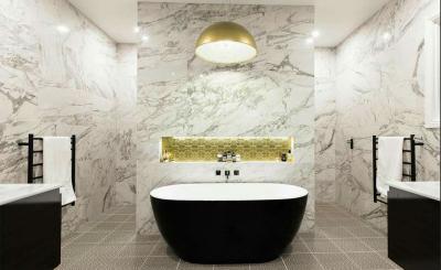 Дизайн ванной комнаты 2018 - фото 3
