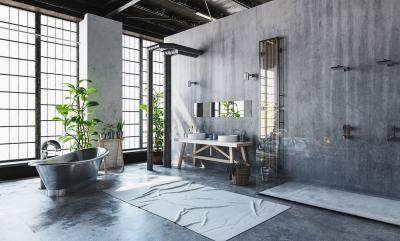 Дизайн ванной комнаты 2018 - фото 4