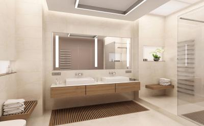 Дизайн ванной комнаты 2018 - фото 5