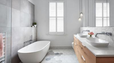 Дизайн ванной комнаты 2018 - фото 6