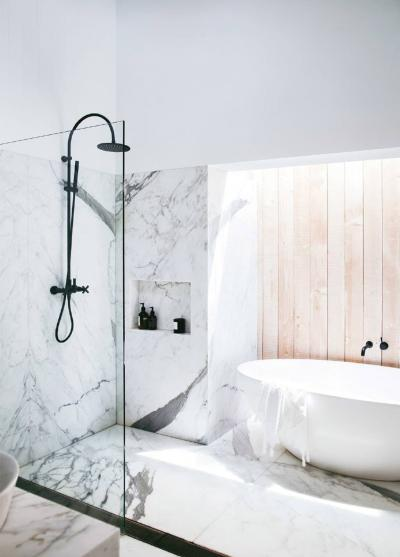 Дизайн ванной комнаты - 165 фото, современные идеи