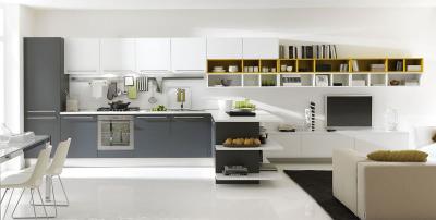 Большая угловая кухня 2