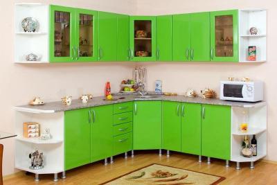 Современная угловая кухня 2