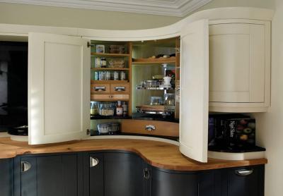 Угловой модуль для кухни (верхняя линия) 1