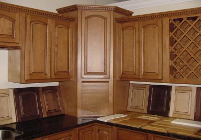 Угловой модуль для кухни (верхняя линия) 2