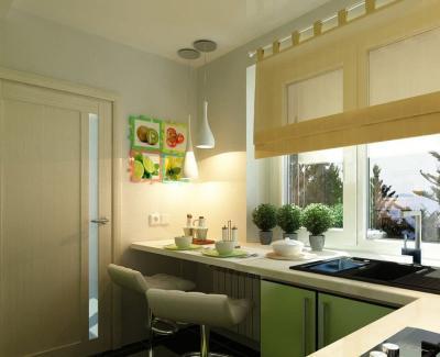 Хитрости обустройства кухни 6 кв.м. 4