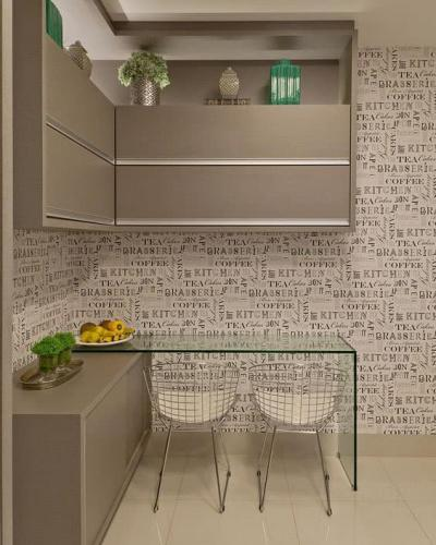Кухня 6 кв. м в стиле минимализм 4