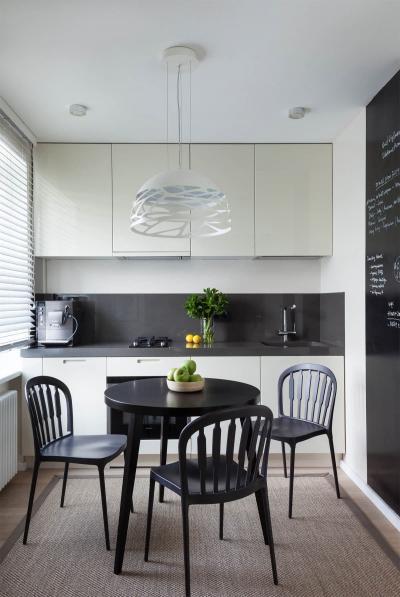 Однорядная кухня 6 кв.м 5