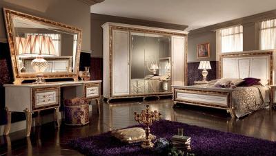 Фиолетовая спальня 18 кв. м 3