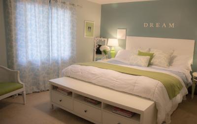 Голубая спальня 18 кв. м 1