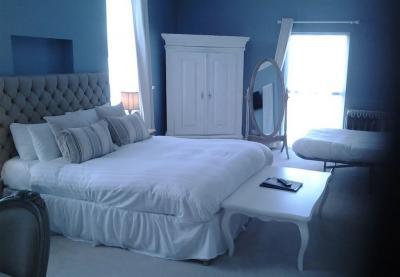 Голубая спальня 18 кв. м 4
