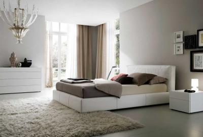 Интерьер спальни 18 кв. м 8