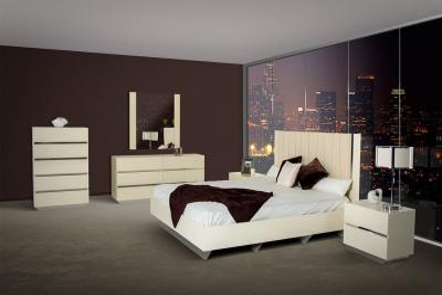 Коричневая спальня 18 кв. м 4