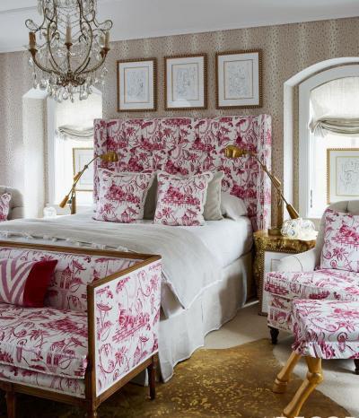 Розовая спальня 18 кв.м 2