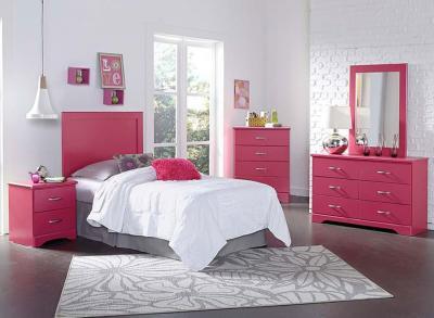 Розовая спальня 18 кв.м 3