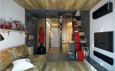 Спальня-гостиная 1