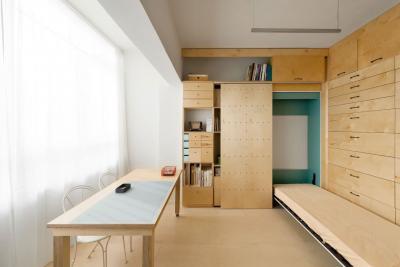 Спальня-студия 18 кв.м 2