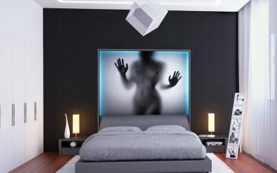 Спальня с фотообоями 2